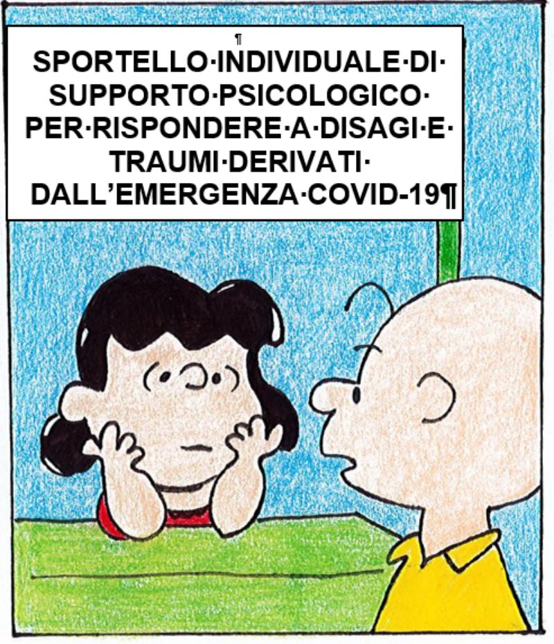 Attivazione di Sportello individuale di Supporto Psicologico per rispondere a disagi e traumi deriva [..]